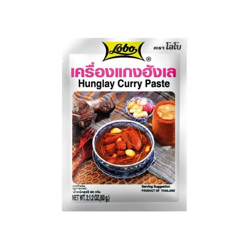 Hunglay Curry Paste 60g best before 07/2018