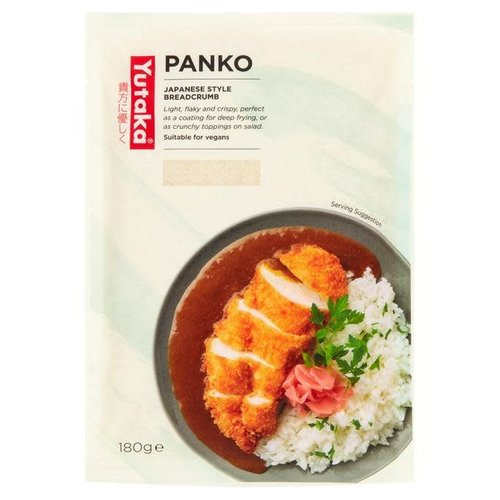 Yutaka Panko Breadcrumbs 180g Suitable for vegetarians