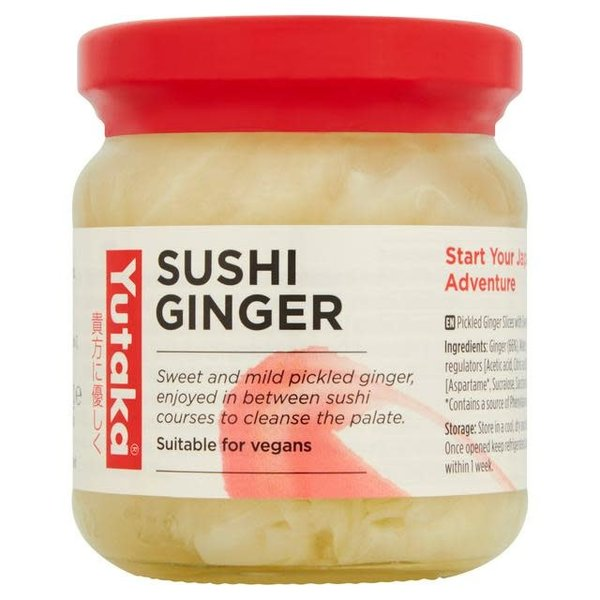 Yutaka Sushi Ginger 190g