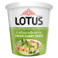 Lotus Green Curry Paste 400g BRAND NEW PRODUCT