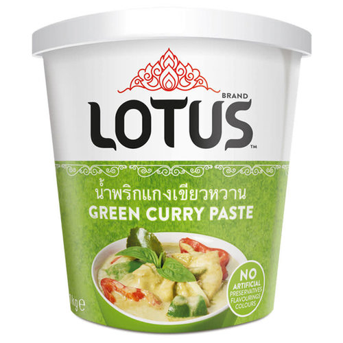 Lotus Green Curry Paste 400g BUY ONE GET ONE FREE