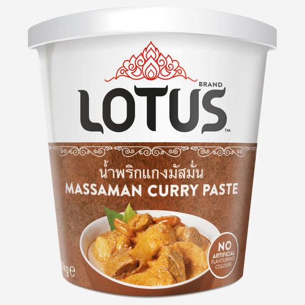Lotus Massaman Curry Paste 400g