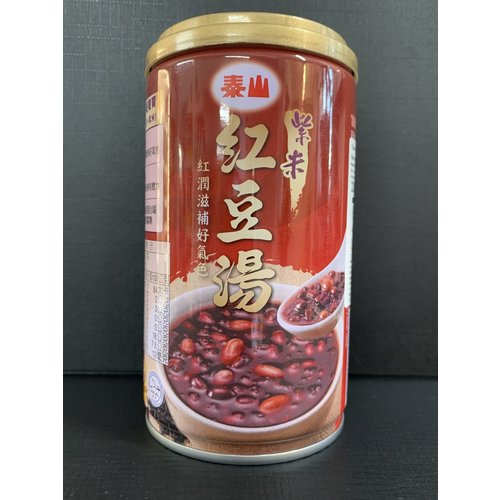 Red Bean Soup With Black Glutinous Rice 330g