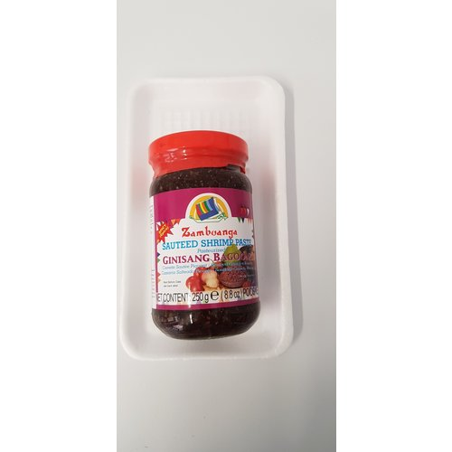 Zambuanga SPICY Sauteed Shrimp Paste 250g Best Before 08/18