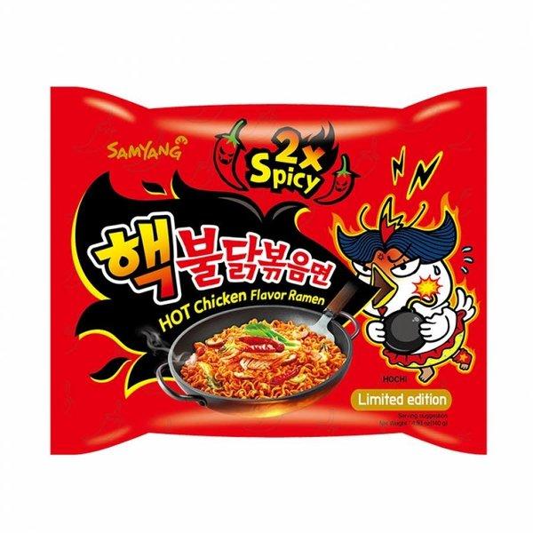 Samyang Noodle Soup -  Extreme (x2) Hot Chicken Ramen 140g