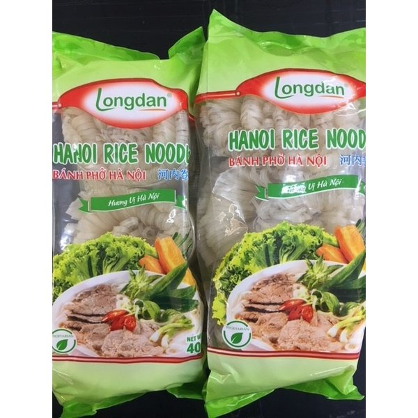 Longdan Rice Noodles -Ha noi Roll 400g Best Before 12/21