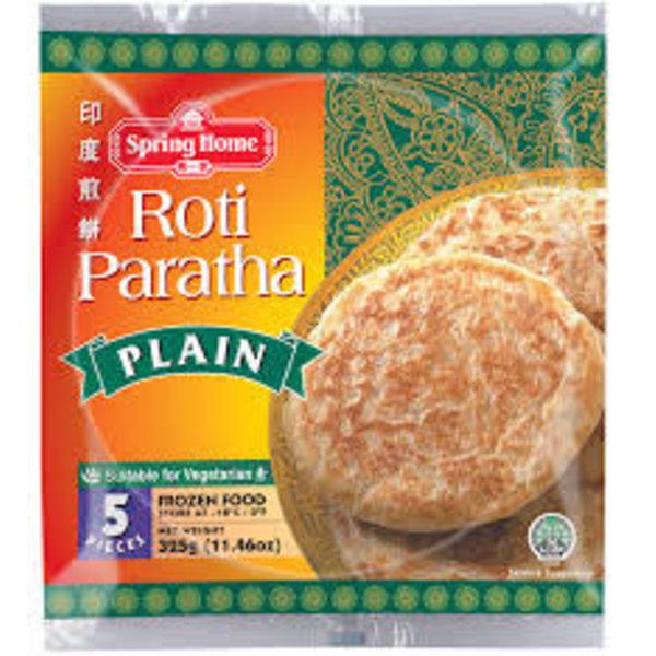 Spring Home Roti Paratha Plain 325g