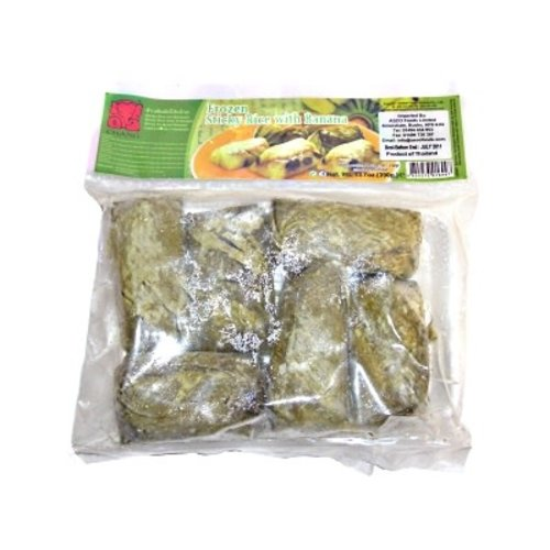Chang Frozen Sticky Rice with Banana Desert 390g  PLEASE CHOOSE A.M. DELIVERY ONLY