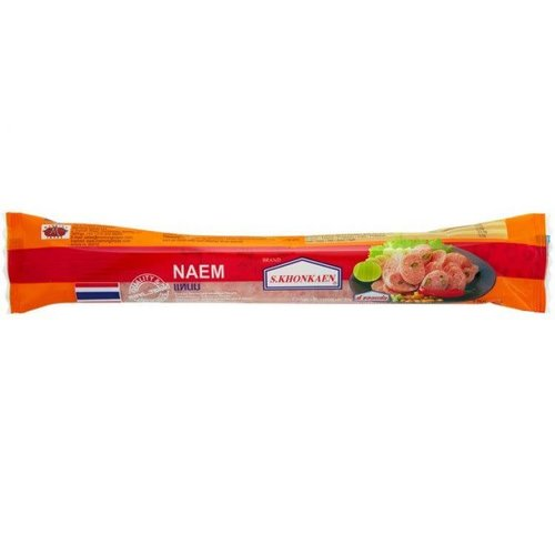 S Khonkaen Naem Sausage 180g (Frozen)  PLEASE CHOOSE A.M. DELIVERY ONLY