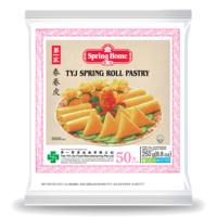 """Spring Home TYJ Spring Roll Pastry 5"""" (50 Sheets) 250g (Frozen)"""