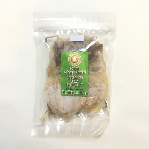 Dried Glassy Squid Frozen 100g (Frozen)