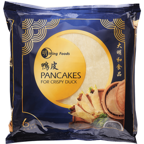 Ming Crispy Duck Pancakes 6  x 10 pack (Frozen)  PLEASE CHOOSE A.M. DELIVERY ONLY