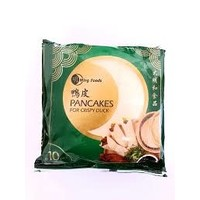 Ming Crispy Duck Pancakes 10 X 10 pack 1050g (Frozen)  PLEASE CHOOSE A.M. DELIVERY ONLY