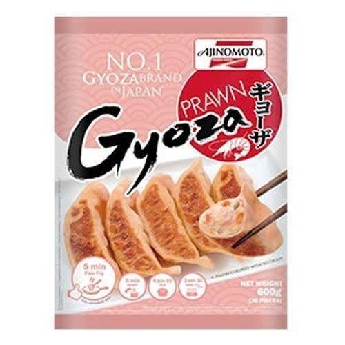 Ajinomoto Gyoza - Prawn / Frozen Dumpling 600g  PLEASE CHOOSE A.M. DELIVERY ONLY