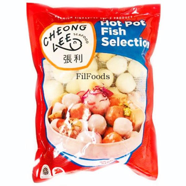 Chiu Chow Hot Pot Fish Selection  (Frozen )500g