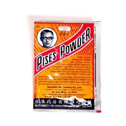 Parachute Brand Pises Powser - ผงวิเศษ (ตราร่มชูชีพ)