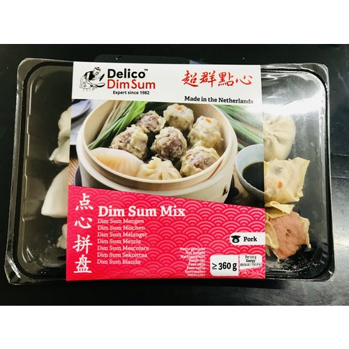 Delico Dim Sum Mix Pork  360g (Frozen)  FOR A.M. DELIVERY ONLY