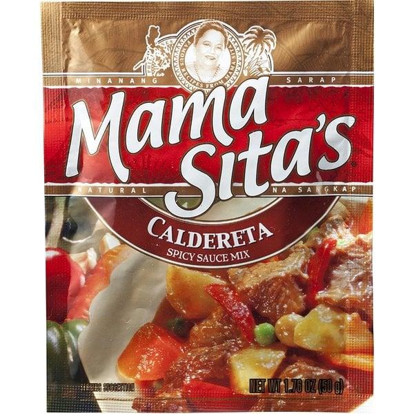 Mama Sitas Caldereta Spicy Sauce Mix 50g