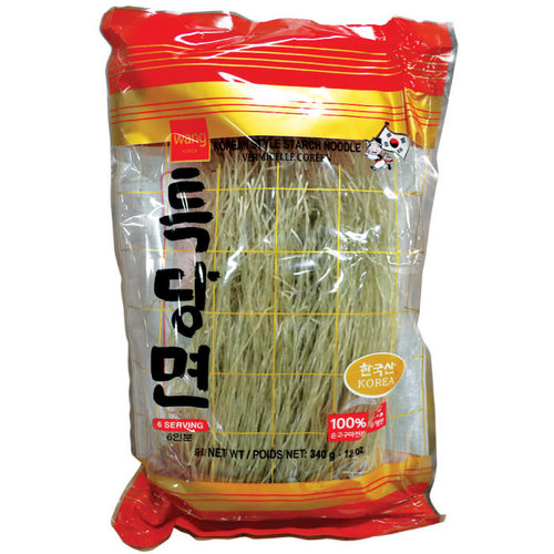 Wang Korean Style Starch Noodle 340g (6 serving)