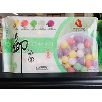 Mixed Rice Balls 300g (Frozen)  PLEASE CHOOSE A.M. DELIVERY ONLY