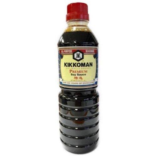 Kikkoman Soy Sauce Premium 600ml