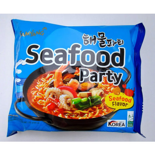 Samyang Noodle Soup -Seafood Party 120g