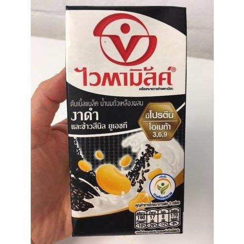 Vitamilk Vitamilk Carton Black Sesame นมถั่วเหลือง รส งาดำ 300ml