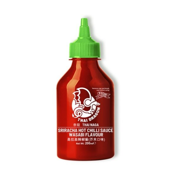 Thai Dragon Sriracha Hot Chilli Sauce 200ml (No MSG & Glutenfree))