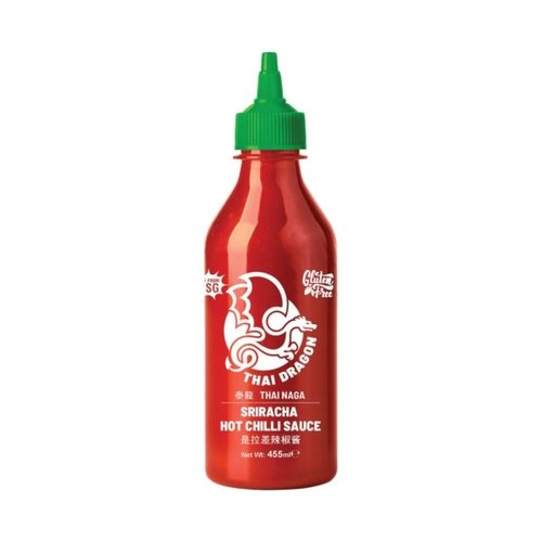 Thai Dragon Sriracha Hot Chilli Sauce  455ml (No MSG & Gluten Free)
