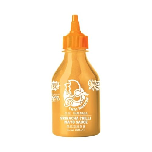 Thai Dragon Sriracha  Chilli Mayo Sauce 200ml (No MSG & Gluten Free)