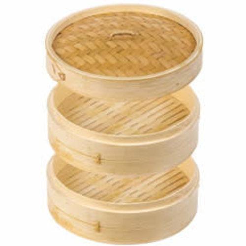 """Bamboo 3 Piece Steamer 8"""""""