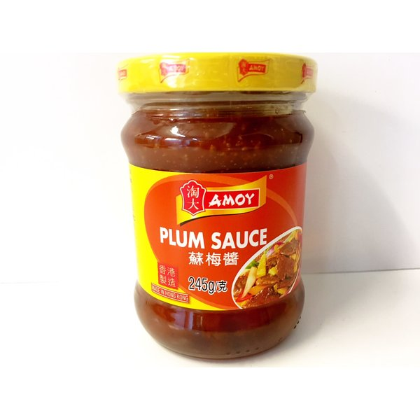 Amoy Plum Sauce 245g best before 10/21