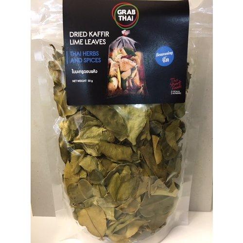 Grab Thai Dried Kaffir Lime Leaves 50g