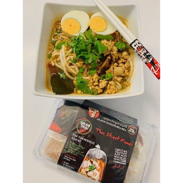 Grab Thai Vietnamese Tom Yum Noodle Soups Kit 186g