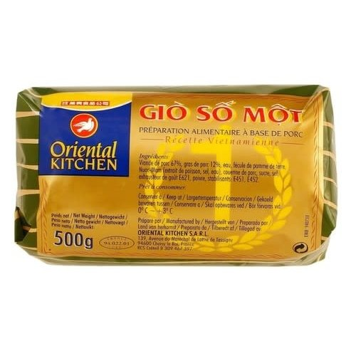 Oriental Kitchen Vietnam Salami Gio So /Frozen  500g