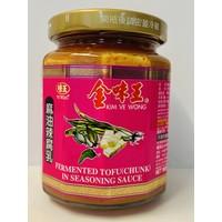 Kim Ve Wong Fermented Seasonned Tofu  / เต้าหู้ยี้  265g