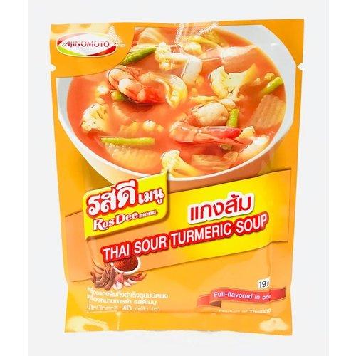 Ajinomoto Thai Sour Turmeric Soup (Kaeng Som) 40g