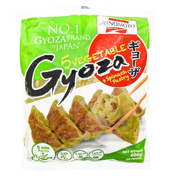 Ajinomoto Gyoza - Vegetable + Spinach Pastry 600g (Frozen)