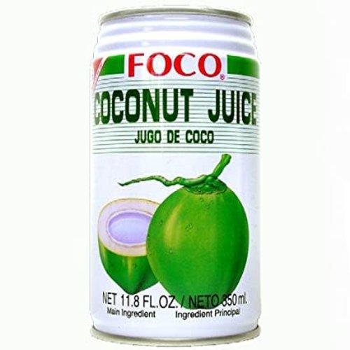 FOCO Coconut Juice with Pulp 350ml
