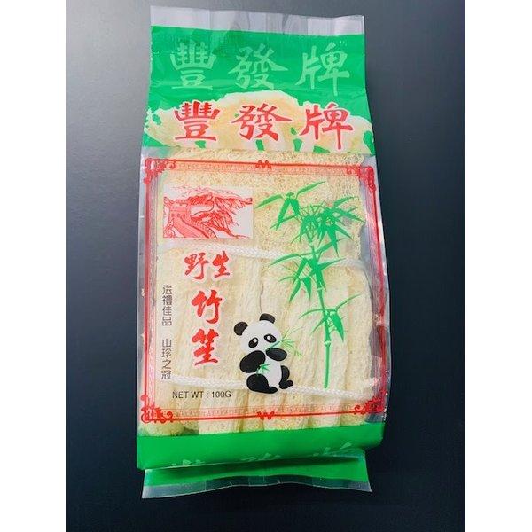 Boiled Bamboo Pulp เยื่อไผ่ 100g