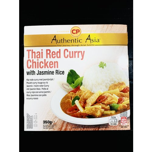 Mae Ploy Thai Red Curry Chicken With Jasmine Rice  350g