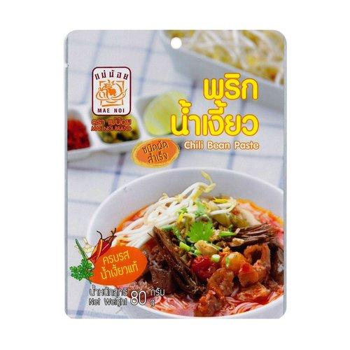 Mae Noi Chilli Bean Paste 80g Nam Ngiew Paste