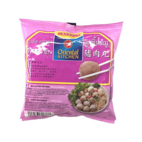 Oriental Kitchen Pork Meatballs  250g (Frozen)  FOR A.M. DELIVERY ONLY