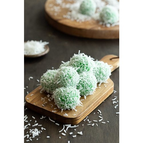 Oriental Delight Onde Onde Mochi  Rice Ball With Coconut Flakes 268g
