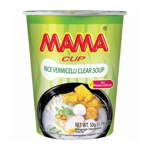 Mama Vermicelli Cup - Clear Soup 50g SPECIAL OFFER Best Before 01/2021
