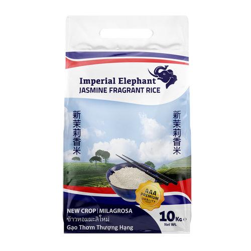 Imperial Elephant Jasmine Milagrosa Rice 10kg