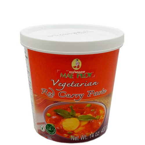 Mae Ploy Red Curry Paste / Vegetarian 400g