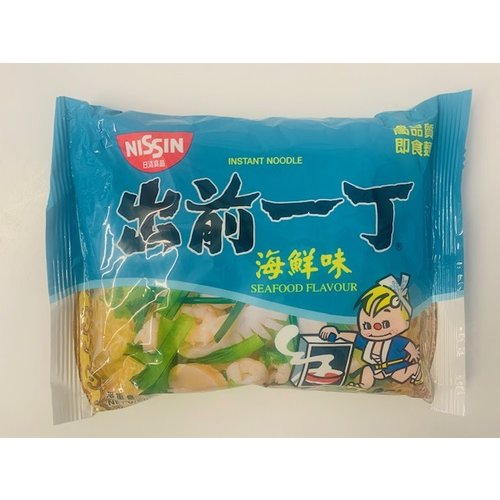Nissin Noodle Soup -Seafood Flavour 100g SPECIAL OFFER Best Before 11/2020