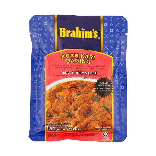 Brahim's Meat Curry  Sauce 180g