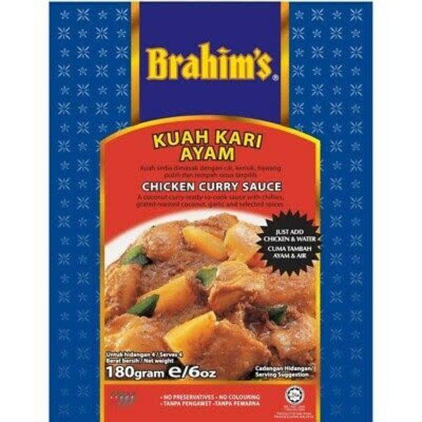 Brahim's Chicken Curry  Sauce 180g
